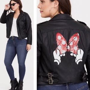 Disney Minnie Mouse sequin bow jacket